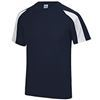 Lower Secondary PE T Shirt contrast Navy /White