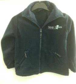 School Fleece with logo