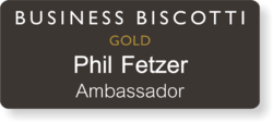Gold Club Ambassador Name Badge